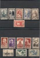 FRANCE  1946 N° Y&T : 748/749-751/754-761/762-765/770 Oblitérés Côte: 17,00 € - Gebraucht