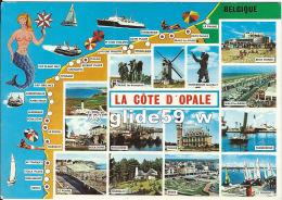 La Côte D'Opale - Multi-vues - N° H. 547-R - Nord-Pas-de-Calais