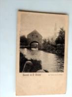 Carte Postale Ancienne : Souvenir De ST GHISLAIN, La Vanne Sur La Haine - Saint-Ghislain