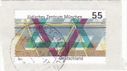 5965A  Germania, BRD - 2007 -  Mi N°2594 ,USED FRAGMENT - BRD