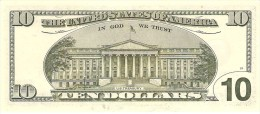 "U.S.A. 10 DOLLARS 2001 PICK 511 LETTER ""B"" UNC"