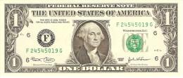 "U.S.A. 1 DOLLAR 2003 PICK 515 LETTER ""F"" UNC"