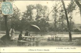 CHAVILLE - L'étang De L'Ursine (peintre)                                  -- Bourdier 2 - Chaville