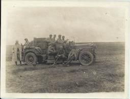 Photo Guerre 1914-18 - Véhicule Delahaie De L'Aérostation Militaire - Treuil N° 8 - Mle 1916 - War, Military