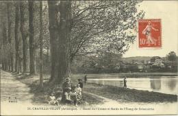 CHAVILLE VELIZY - Route De L´Ursine Et Bords De L'étang De Brisemiche                                  -- FF 53 - Chaville