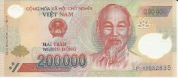 VIET NAM 200000 DONG 2011 PICK 123 POLYMER UNC - Vietnam