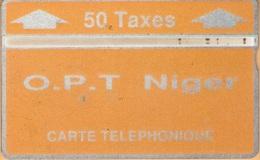Niger - NGR-07, O.P.T. Niger - Orange 50U, 208B07268, 1000ex, 1992, Used As Scan - Niger