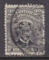 Southern Rhodesia: 1913 - 22, George V  2d Black + Grey  Perf 14, Die I Used - Southern Rhodesia (...-1964)