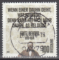 Germany    Scott No  2600     Used    Year  2010 - BRD