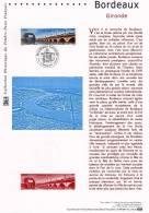 """(Prix à La Poste = 5 €) Document Officiel De 2004 N° 21 04 509 """" BORDEAUX """" N° YT 3661. DPO ( Tramway ) - Tramways"""