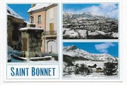 LE CHAMPSAUR - ST BONNET - STATION DE LAYE  - CPM GF NON VOYAGEE - Frankreich