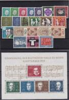 (275) Bundesrepublik, kpl. Jahrgang 1959 **