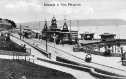 Postcard - Plymouth Promenade Pier Entrance, Devon. S1188 - Plymouth
