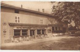 CPA 01 VONAS Commerce Hôtel Restaurant Chez La Mère Blanc - Francia