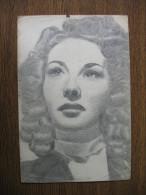 ORIGINAL OLD PAINTING CARTON (PAPER):LAINE? - Drawings