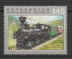 Austria (2014) - Set -  /  Train - Trenes - Locomotives - Eisenbahn - Trains - Treni