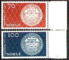 NORWEGEN 1971 MI-NR. 619/20 ** MNH (38) - Norwegen