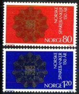 NORWEGEN 1972 MI-NR. 635/36 ** MNH (38) - Norwegen