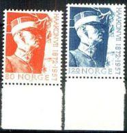 NORWEGEN 1972 MI-NR. 643/44 ** MNH (38) - Norwegen
