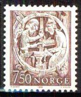 NORWEGEN 1976 MI-NR. 718 ** MNH (38) - Norwegen