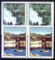 NORWEGEN 1979 MI-NR. 795/96 DD ** MNH (38) - Norwegen