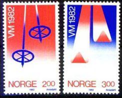 NORWEGEN 1982 MI-NR. 853/54 ** MNH (38) - Norwegen