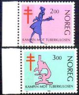 NORWEGEN 1982 MI-NR. 862/63 ** MNH (38) - Norwegen