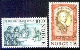 NORWEGEN 1985 MI-NR. 934/35 ** MNH (38) - Norwegen