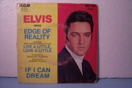 ELVIS  PRESLEY ---EDGE  OF  REALITY --- Ref: RCA- VICTOR  49.574 ( Année  1968 ) - - Rock