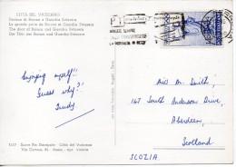 1960 Italy Italie Italia Cartolina Vg X SCOZIA Cp Postcard 2scans - 6. 1946-.. Repubblica