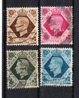 Gran Bretagna   -  1937-47.  George VI. Serietta Used - Usati