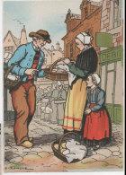 E. BLANCHE - La Bretagne - Région D' AUDIERNE   (BD 1193 H) - Autres Illustrateurs