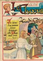 """LE CHOEUR N° 138 De Mars 1959 REVUE PIEUSE Illustrée Pierre BROCHARD : """"Jeudi Saint  """" Curé D'Ars St Jean Marie VIANNEY - Religion"""