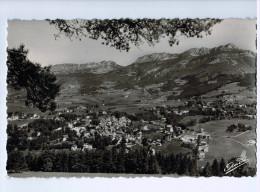 2144  Cpsm VILLARD DE LANS : Vue Générale , Le Cornaflon Et Le Col De L'Arc  , Carte Photo ! - Saint-Hilaire-du-Touvet