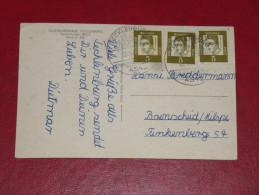 1963 Tecklenburg 4542 Jugendherberge Werbestempel Sonderstempel Deutschland Germany Postkarte - [7] West-Duitsland