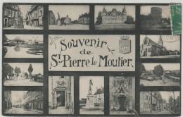 58 SAINT PIERRE LE MOUTIER , Multivue - Saint Pierre Le Moutier