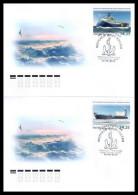 2013 FDC (canc. In St.Peterburg) Russia Rußland Rusland Russie Rusia Marine Fleet Ships Mi 1933-1934 - 1992-.... Federation