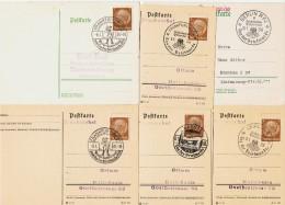 """1938 / Lot De 6  """" Journées Du Timbre """" - Allemagne"""