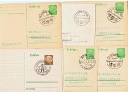 """1938-39  / Lot De 6 """" Journées Du Timbre """" - Allemagne"""