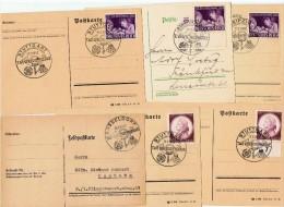 """1942   / Lot De 6 """" Journées Du Timbre """" - Allemagne"""