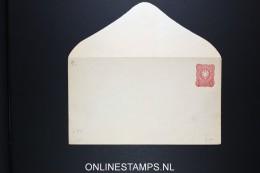 Germany: Umslag U 9  146 *83.5 Mm Pfennige Klappensnitt D , Mi Cat Value 850 Euro - Postwaardestukken