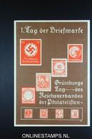 Germany: Postcard Privatganzsache Tag Der Briefmarke 1936 Not Used - Danzig