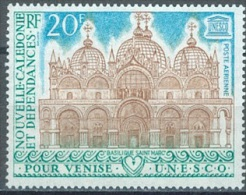 NOUVELLE CALEDONIE - 1972 - MNH/*** LUXE - UNESCO VENISE -  Yv  PA 127 - Lot 11489 - Luchtpost