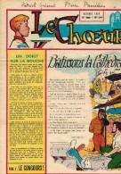 """LE CHOEUR N° 144 De Octobre 1959 REVUE PIEUSE Illustrée Pierre BROCHARD """" Bâtissons La Cathédrale """" - Religion"""