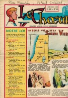 """LE CHOEUR N° 145 De Novembre 1959 REVUE PIEUSE Illustrée Pierre BROCHARD """" La Belle Vie De La Sainte Vierge """" - Religion"""