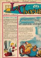 """LE CHOEUR N° 146 De Décembre 1959 REVUE PIEUSE Illustrée Pierre BROCHARD """" Un Sauveur Vous Est Né """" - Religion"""