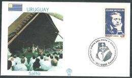 1988 VATICANO VIAGGI DEL PAPA URUGUAY SALTO - SV2 - FDC