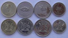 UGANDA 2007   2008  SERIE 4 MONETE 500-200-100-50 SCHELLINI FDC UNC - Uganda