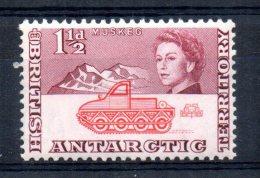 British Antarctic Territory - 1963 - 1½d Definitive - MH - Territoire Antarctique Britannique  (BAT)