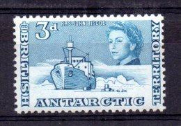 British Antarctic Territory - 1963 - 3d Definitive - MH - Territoire Antarctique Britannique  (BAT)